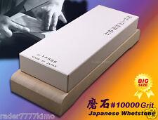 High Quality Japanese Whetstone #10000 Grit BIG Sharpening Stone Wood Holder