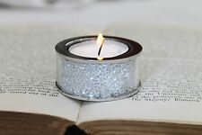 New Small Swarovski Crystal Filled Tea Light Candle Holder