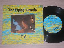 """THE FLYING LIZARDS - TV / TUBE - 45 GIRI 7"""" ENGLAND"""