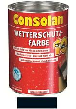 Consolan Wetterschutz-Farbe Schwarz 10 Liter NEUWARE Art. Nr. 5087493