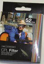 Vivitar CPL-52 52mm CPL Filter Circular Polarize  nikon 18-55mm 55-200mm D3100