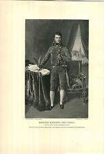 1897 Napoleon Bonaparte First Consul PRINT Classic Pose Hand In Jacket