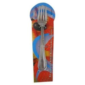 (High Quality) - Brand New - Stainless Steel Dining Table Fork (Royal) 4 Pieces