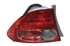 for 2006 2007 2008 Honda Civic Sedan LH Left Driver Tail lamp Taillight Outer