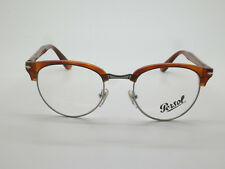 New Authentic PERSOL 8129-V 96 Terra di Siena RX 48mm Eyeglasses