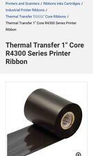 Brady Thermal Transfer Ribbon R4300, Part No. Y36203