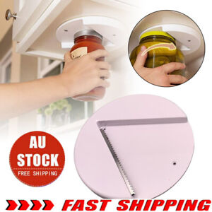 Arthritis Glass Jar Opener for Under the Kitchen Cabinet Counter LGN Remover Aid
