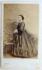 CDV PHOTO LEVITSKY second empire Mlle Laure DESROZIERS jeune femme F620