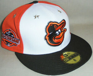 -NWT-2018 -Baltimore Orioles- Baseball All-Star Game New Era 59/Fifty Fitted Hat