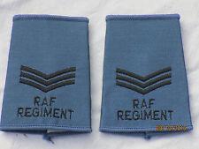 distintivi di grado GB: Sergente, Royal Aeronautica,oliva, RAF, Luftwaffe, blu