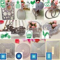 Cute Metal DIY Cutting Dies Stencil Scrapbook Album Paper Card Embossing Craft