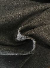 Pollack Grey Wool Upholstery Fabric- Double Faced Wool Graphite 6.65 yd 3030/04