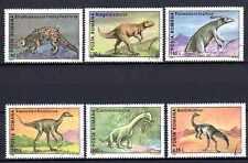 Animaux Préhistoriques Roumanie (19) série complète 6 timbres oblitérés