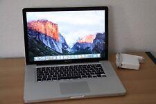 "Apple MacBook Pro 15"" Modell 5,4"