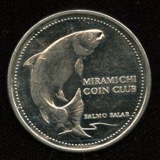 1982 Newcastle NB New Brunswick Trade Dollar Token Canada Miramichi Coin Club
