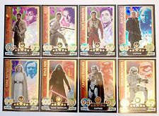 Star Wars Force Attax Extra HOLOGRAPHIC FOIL CARDS 121-128 COMPLETE SET 8 TOPPS