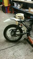 HONDA CG 125 CAFE RACER/BRAT STYLE SEAT FRAME LOOP/HOOP  WITH A DOUBLE  KICK