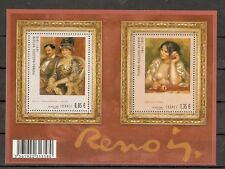 FRANCE 2009...Miniature Sheet n° F4406 MNH...Paintings..Pierre-Auguste Renoir