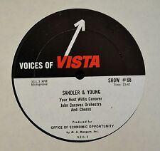 Dick Manning Sandler & Young Voices Of Vista Show #68 & 69 Host Willis Conover