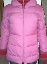 Stefanel Giubbotto imbottito taglia L (42/44) caldo per la neve rosa piuma donna