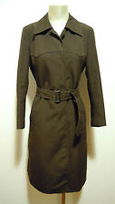 CULT VINTAGE '70 Trench Impermeabile Donna Woman Cotton Raincoat Sz.S - 42