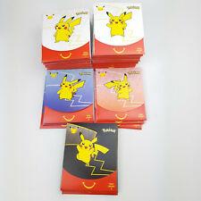 Pokemon 25th Anniversary McDonalds 2021 Sealed Training card game Packs. PIKACHU