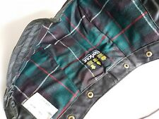 NEW BARBOUR VINTAGE WAXED COTTON HOOD GREEN NEW OLD STOCK 80s MADE IN ENGLAND