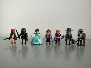 Playmobil The Movie Series 2 Figures Bundle x 7 - Legionary, Black Knight, Salty