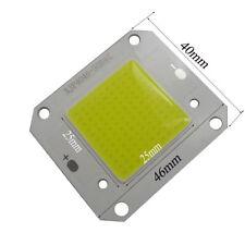 10pcs 12V 50W High Power LED Lamp Light COB SMD Bulb Chip White Light 6000-6500K