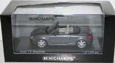 1999 MINICHAMPS GREY METALLIC AUDI TT ROADSTER 1:43 430017235 1 of 1200 RARE!