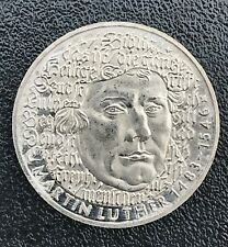 German 5 Mark 1983 Martin Luther Commemorative