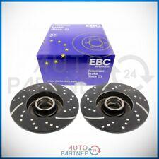 EBC für VW Golf 1 2 3 G60 Bremse Turbogroove Bremsscheiben Bremsscheibe hinten