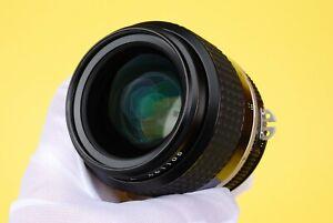 Nikon Nikkor 35mm f/1.4 AI-S Manual Focus Semi Wide Angle Lens Nikon F Mount