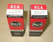 2 NOS RCA  6BZ7  Tubes