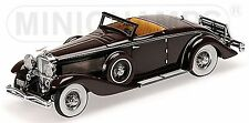 Duesenberg SJN Convertible Coupe 1936 rouge foncé First Class Collection 1:43