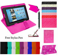 """Universal  Flip Stand Case Cover For 9.7"""" 10"""", 10.1"""" Inch Tab Android Tablet"""