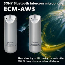 Sony Ecm-aw3 Bluetooth Wireless Microphone and Receiver 150ft
