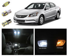Honda 7th GEN Accord Euro 02-12 Bright White LED Interior Light bulb globe Kit