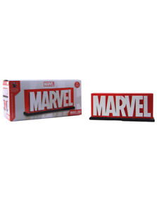 Gentle Giant Marvel Comic Logo Bookends Limited Edition 4000 New In Box