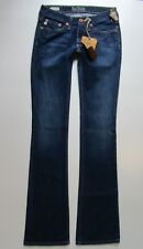 NWT Big Star Mia Low Rise Boot Cut Jean, Dark Wash - Size 24 x 35