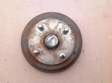 OEM Factory Geo Metro Rear Brake Drum (Includes Bearings, Center Cap & Lug Nuts)