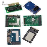 40pin SATA Adapter Mini PCI-e/mSATA SSD/Express to ZIF/7pin/2.5'' Converter Card