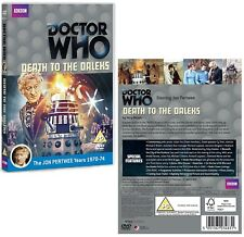 DR WHO 072 - DEATH TO THE DALEKS - Doctor Jon Pertwee + Sarah Jane - NEW R2 DVD