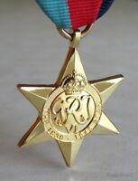 British & Commonwealth The 1939–1945 Star Military Campaign Medal WWII WW2