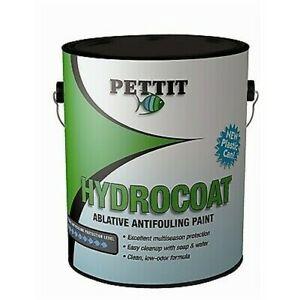 Pettit Hydrocoat Water-Based Multi-Season Antifouling Blue Gallon Paint 1240GL