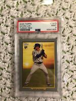 2020 Topps Turkey Red Gavin Lux PSA 9 Mt Rookie Los Angeles Dodgers 2nd Base Rc