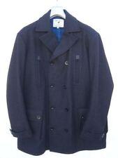 Cappotti e giacche da uomo grigie in misto lana con colletto