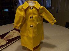 American Girl Pleasant Company Molly Slicker & Rain Hat & Umbrella & Galoshes
