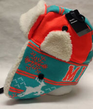 Miami Dolphins Team Color City Name Trooper Hat - Warm and Well Made!!! WOW!!