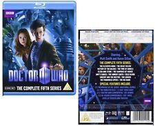 DR WHO 2010 Series 5 - Doctor Matt SMITH, Amy Pond + Rory Season - NEW BLU-RAY